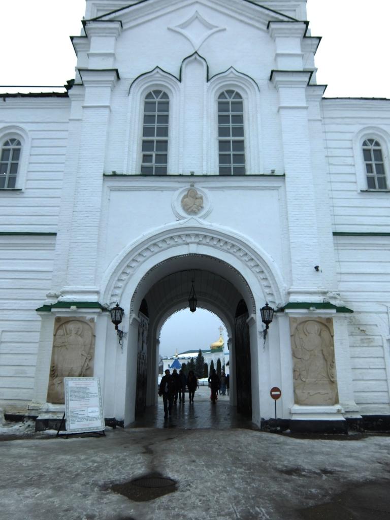Раифа. Надвратная церковь. Казань