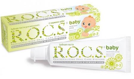 Зубные пасты ROCS