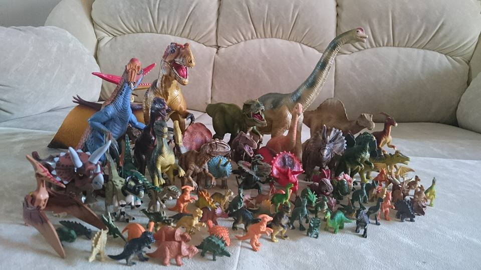 Наша коллекция динозавров