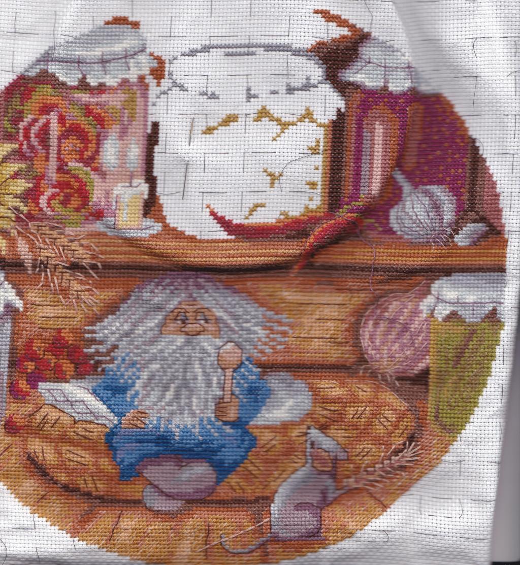 Вышивка домовой хранитель очага схема 75