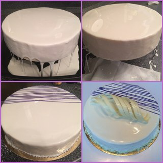 как сделать белую глазурь для торта которых шьют термобелье