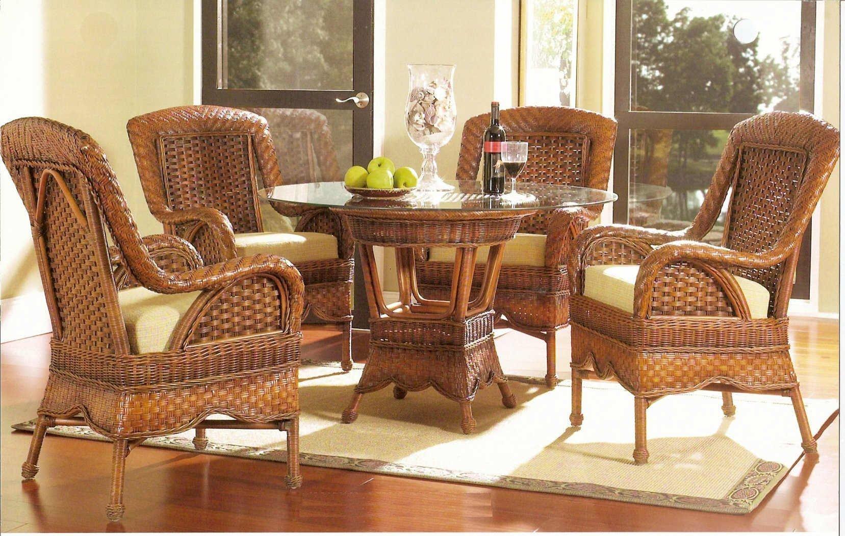 Плетение мебели из ротанга