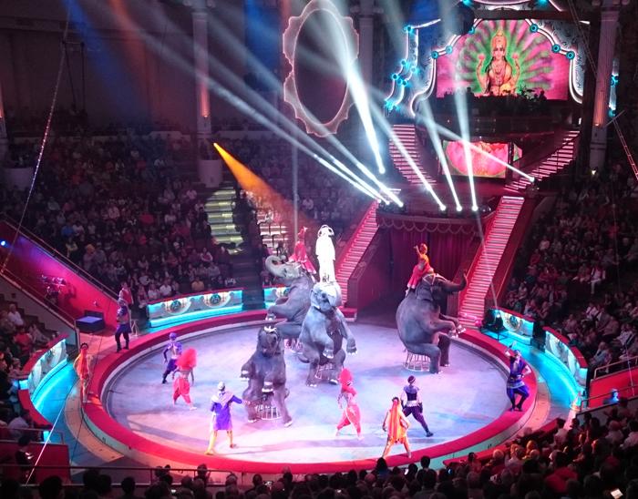 Фестиваль-конкурс циркового искусства в цирке на Цветном бульваре