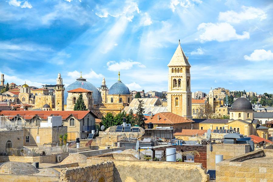 Выставка Министерства туризма Израиля Два города - один отпуск Иерусалим
