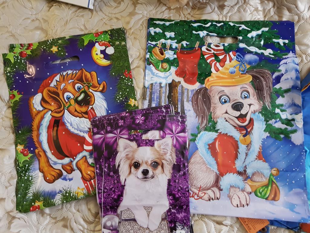 Подарки детям от организации 95