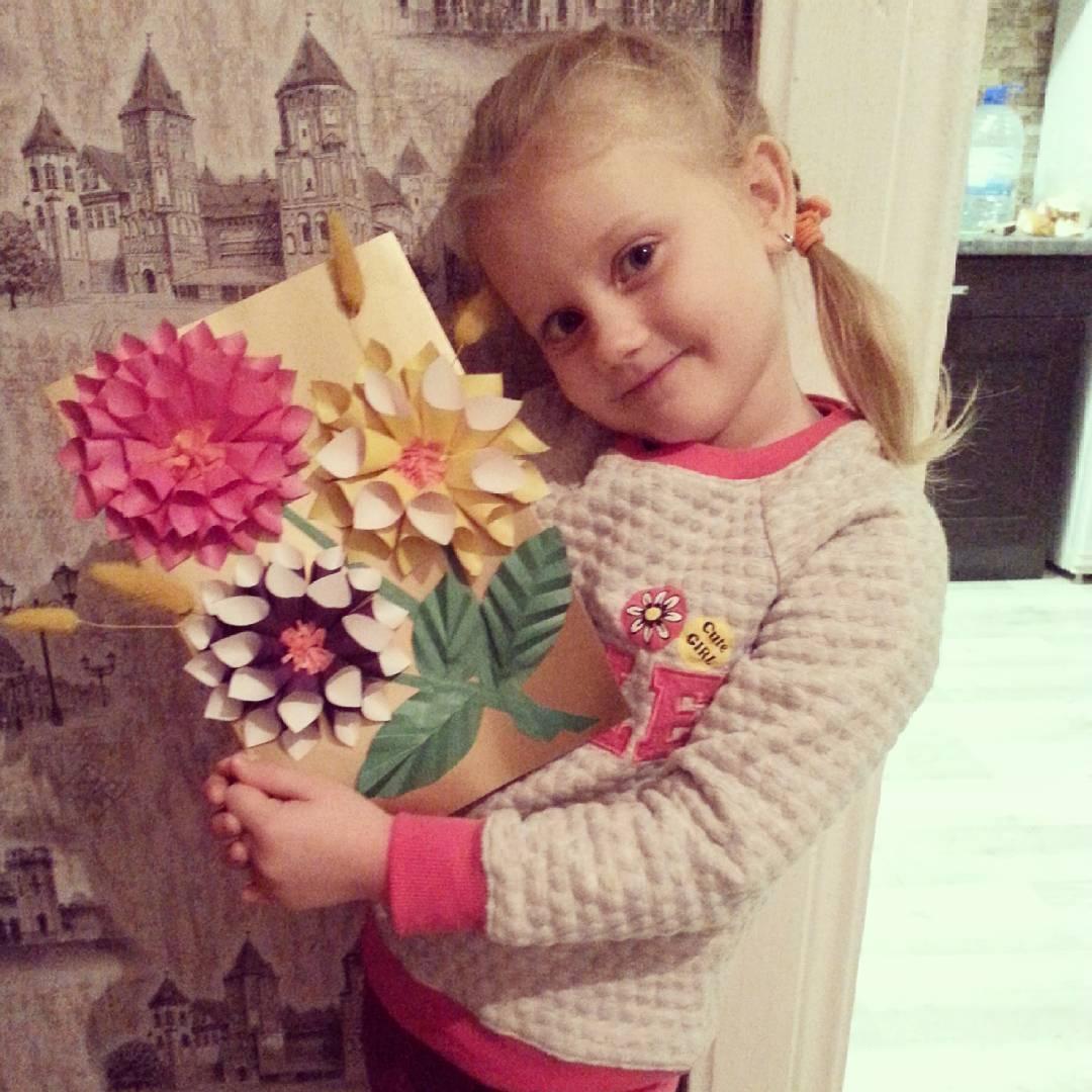 Цветы для мамы. Умелые руки