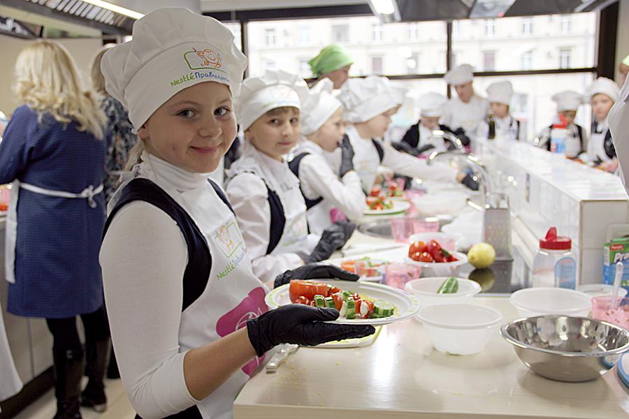 Детская кулинарная школа онлайн