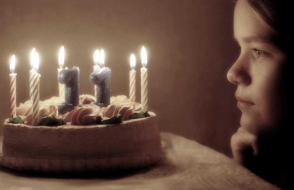 Время загадывать желание. Закрытое голосование фотоконкурса «Поздравление с Днем Рождения»