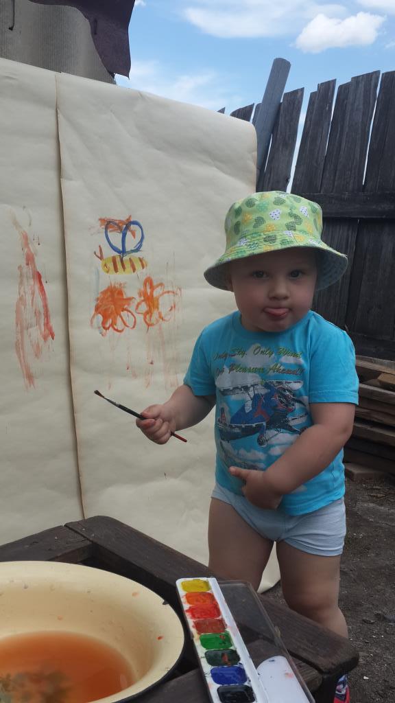Каждый ребенок — художник.. Умелые руки