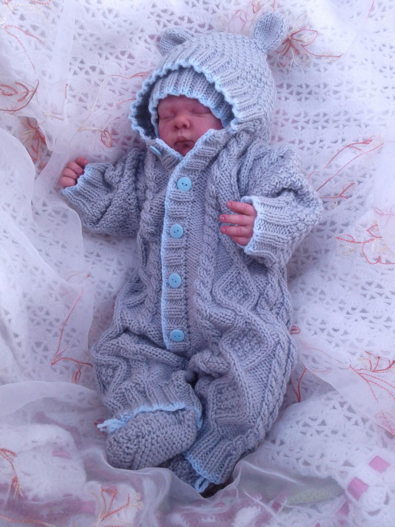 Комбинезон для новорожденного . Одежда для детей