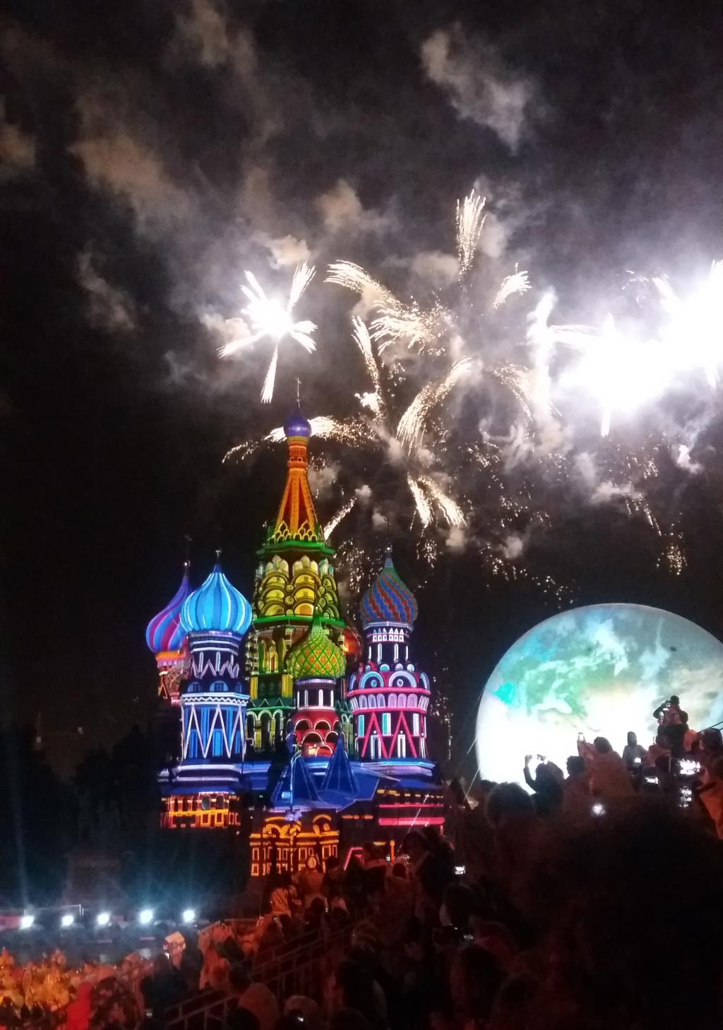 Огни Москвы. Блиц: фейерверки