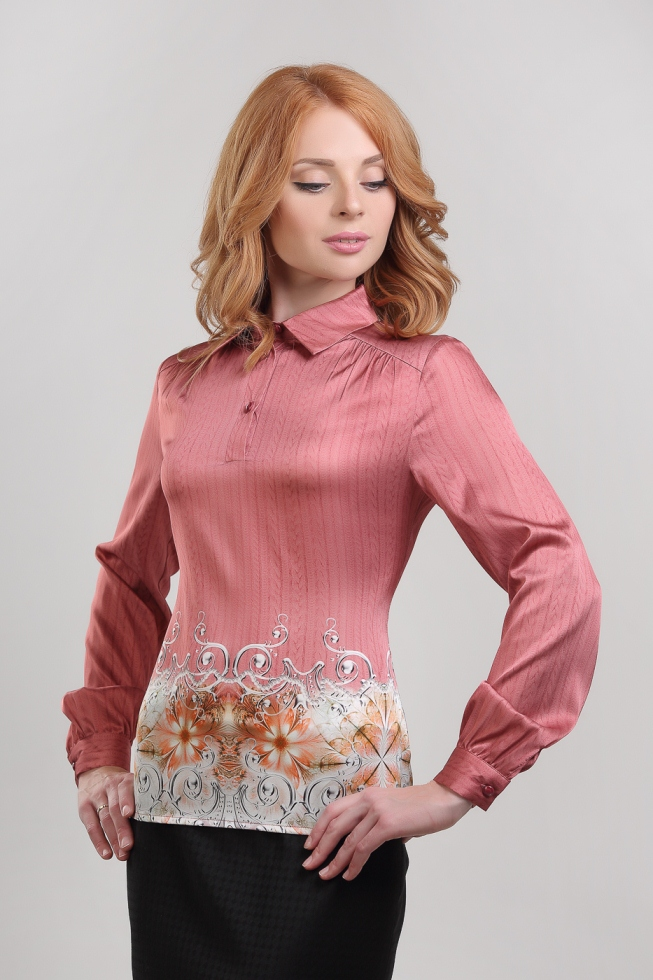 Розовая Блузка В Красноярске