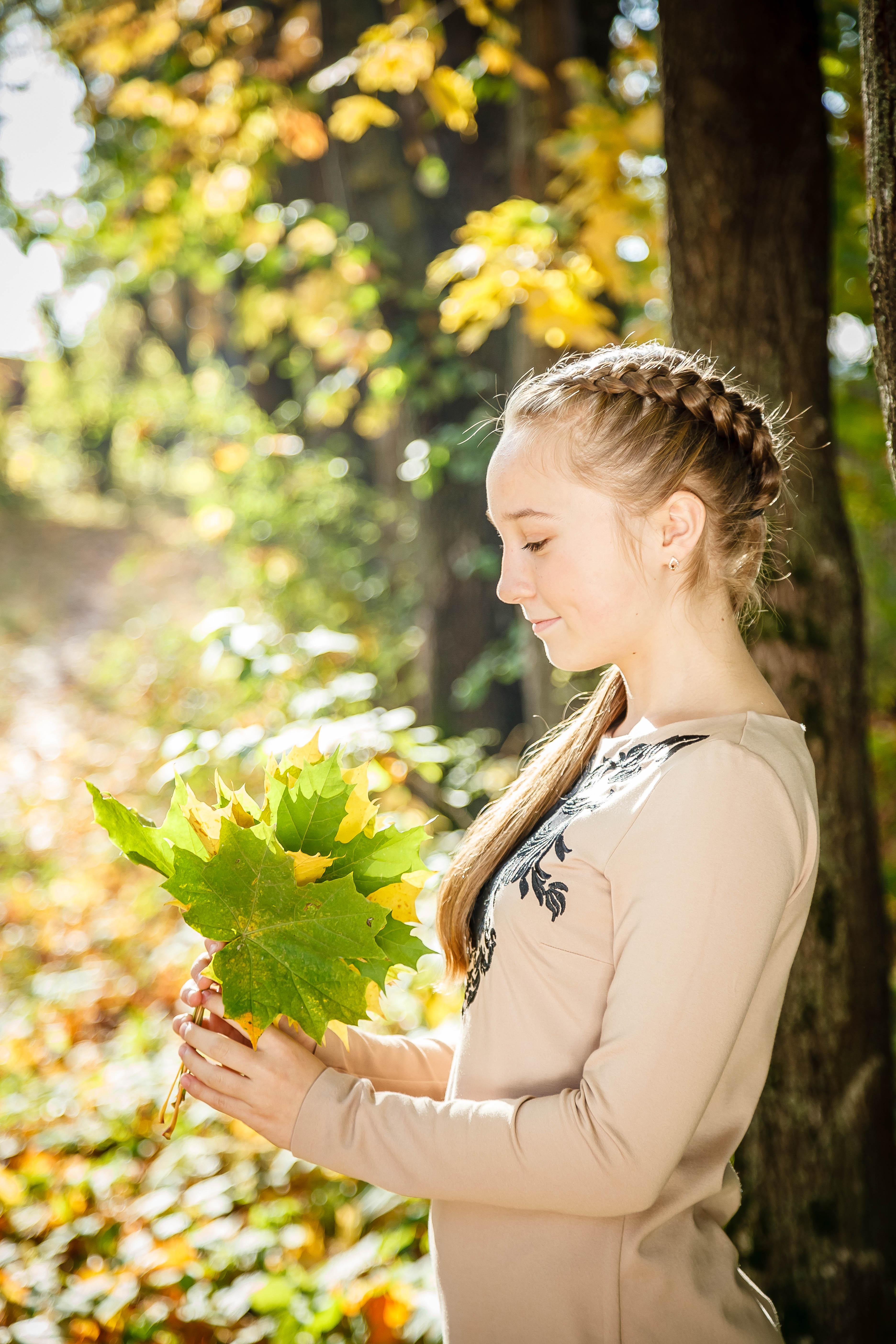 Осень в моих волосах!. Прическа под настроение