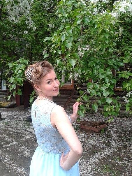Моя красавица -жена! Настроение -весна!. Прическа под настроение