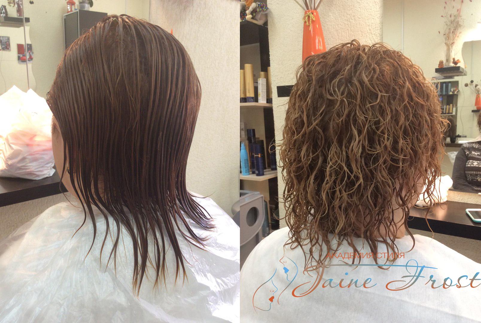 Как сделать хим завивку на волосы 519