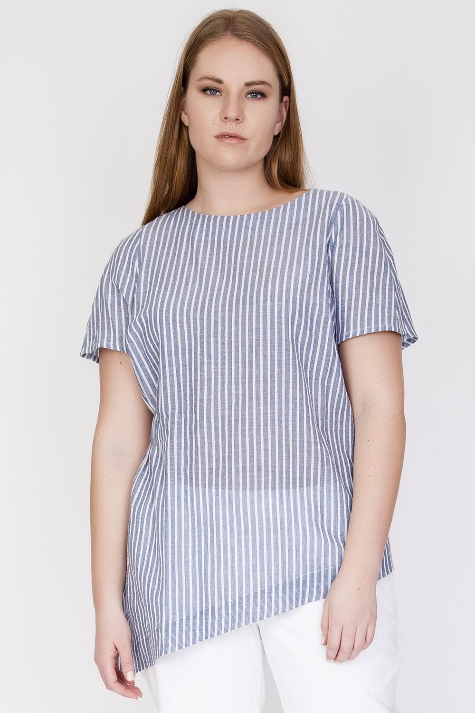 Ассиметричная блузка