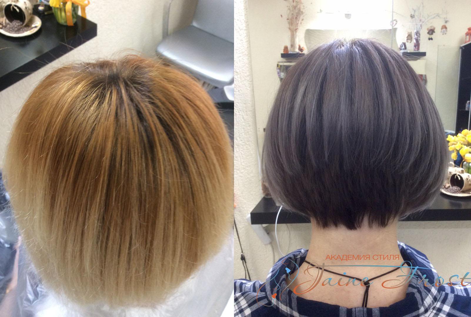 Как покрасить волосы при каре