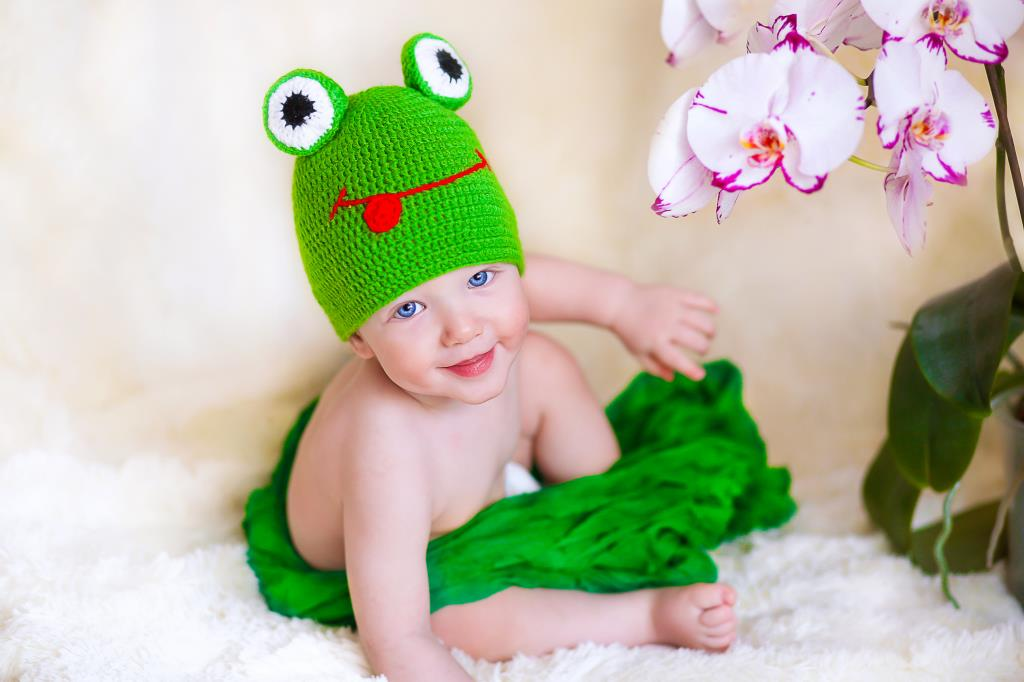 Наш любимый лягушонок!. Мой малыш