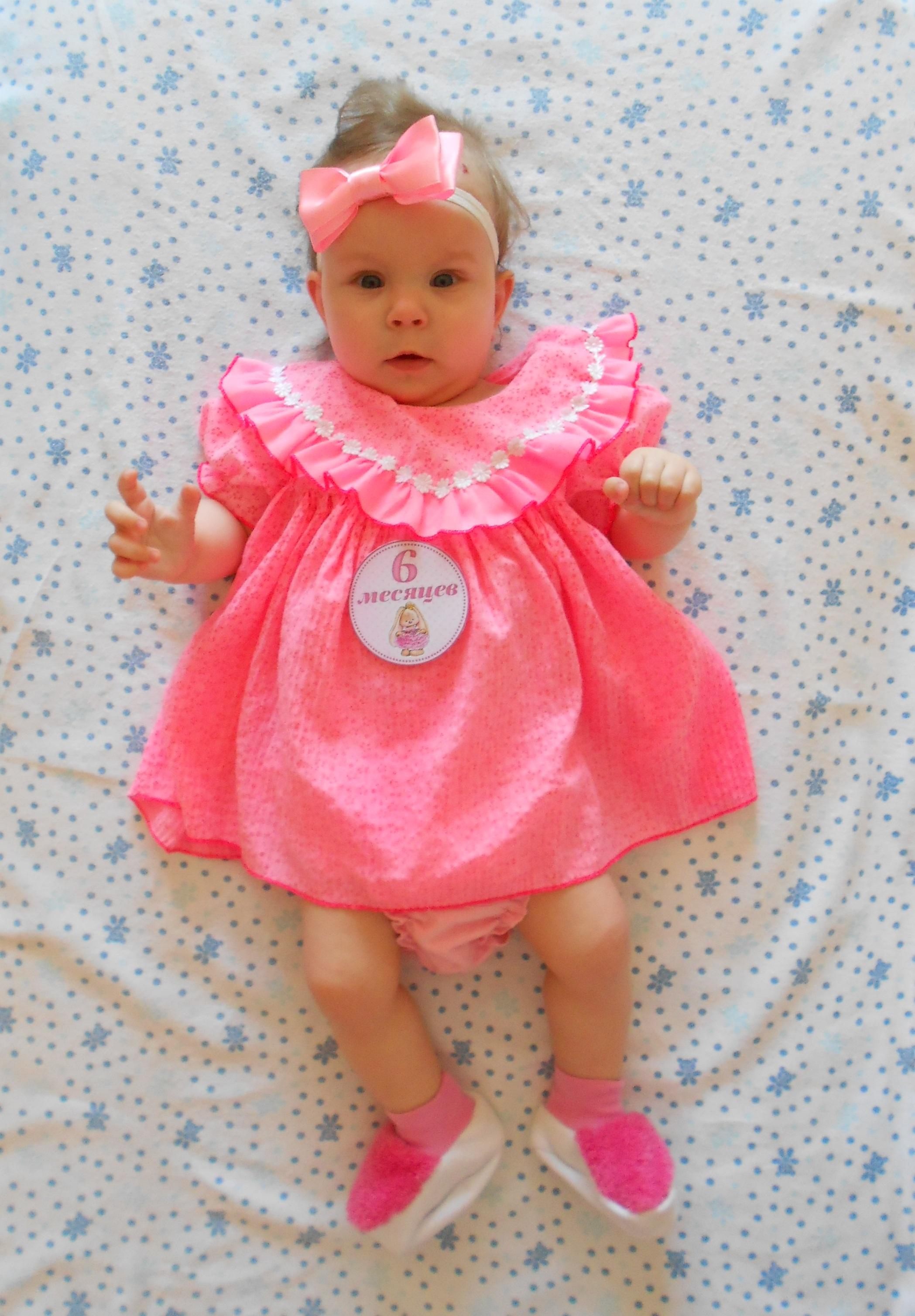 Моей доченьке 6 месяцев!. Мой малыш