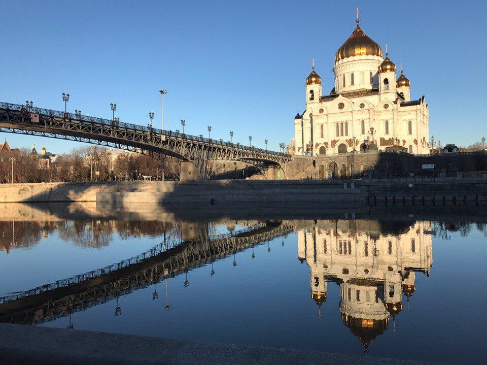 Москва, Храм Христа Спасителя. Блиц: купола