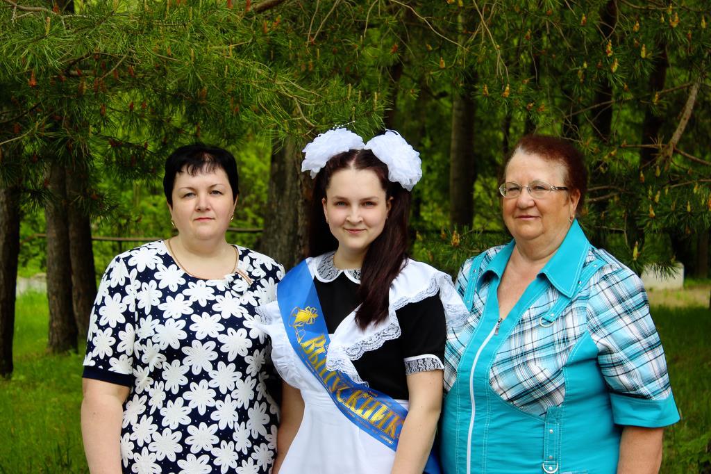 Конкурс 'Само очарование'. Бабушка, мама и дочь.. Вместе с мамой