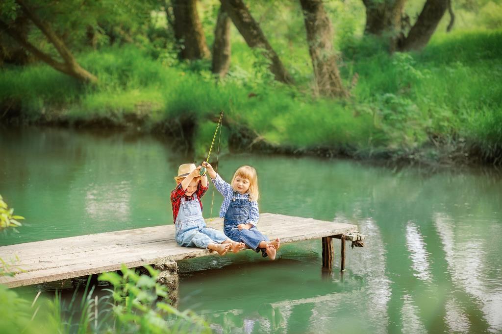 Рыбалка). Летнее настроение