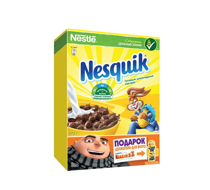 Гадкий я 3 в готовых завтраках Nesquik