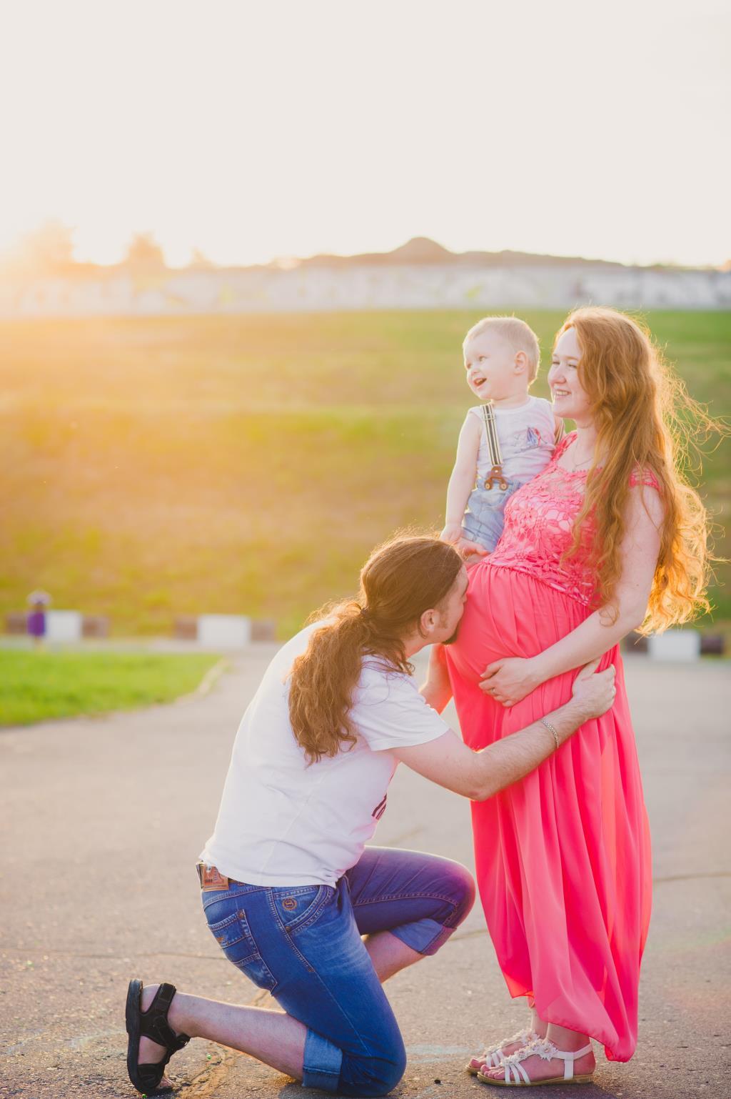 Семейное летнее счастье!. Совершенно летние!