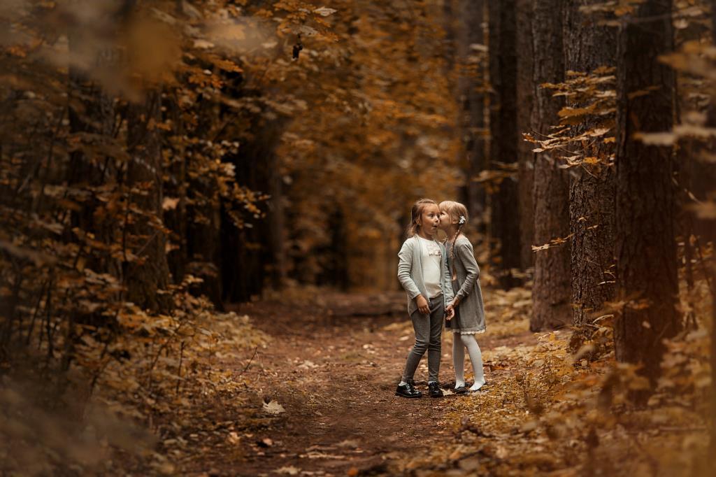 Осенние секреты ))). Краски осени