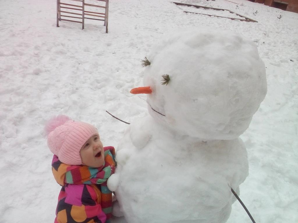 Долгожданная зима. Зимние забавы