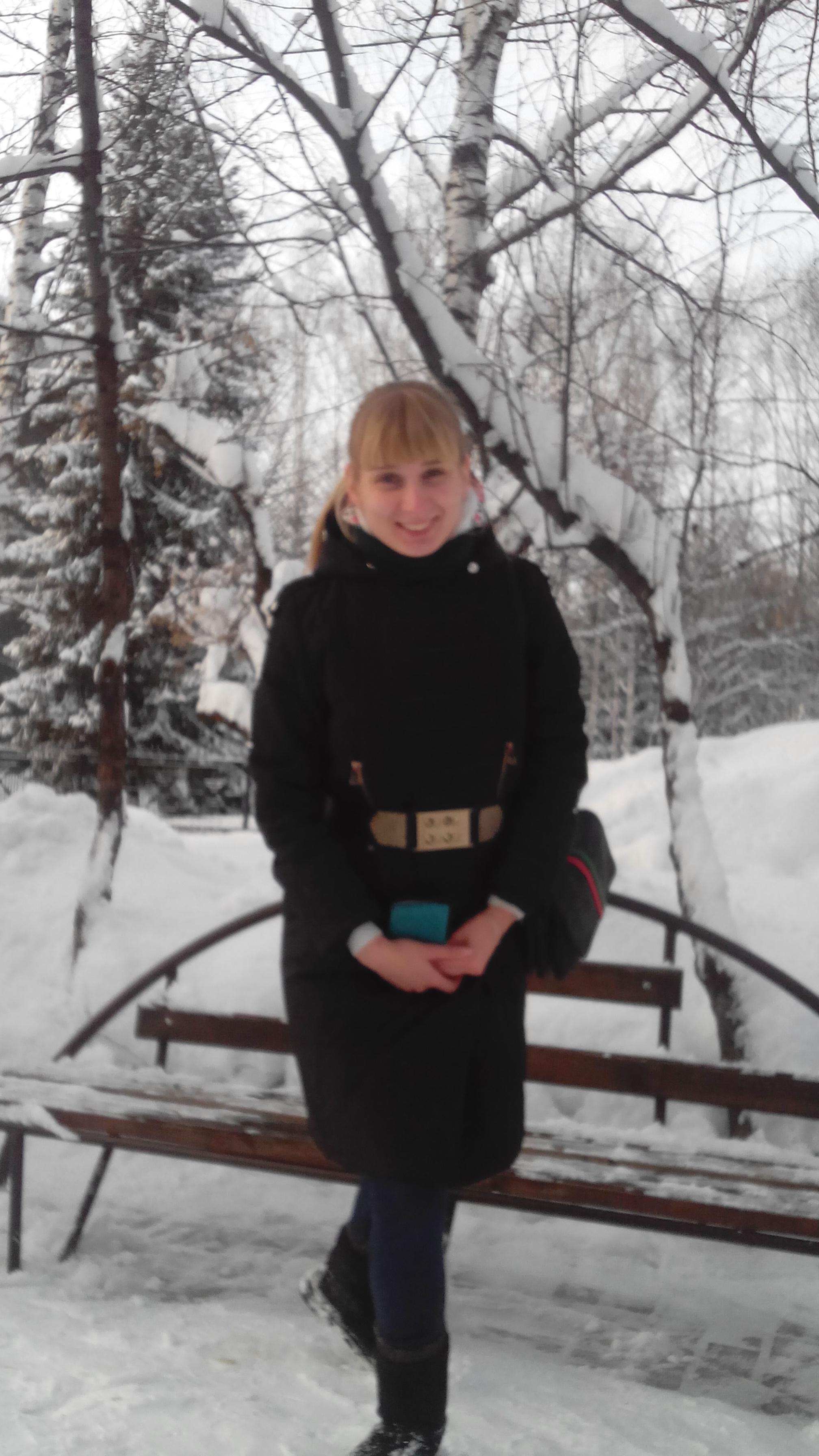 Снежная Сибирь. Зимний образ