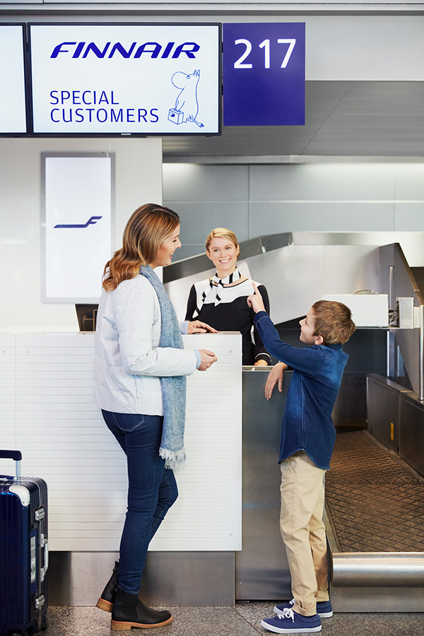 Муми-тролли на рейсах Finnair