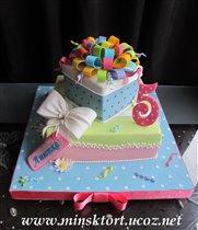 Она уже совсем большая через месяц нам будет 2 года. .  Время летит...  Вот примерные торты которые понравились мне...