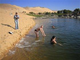 купание в Ниле