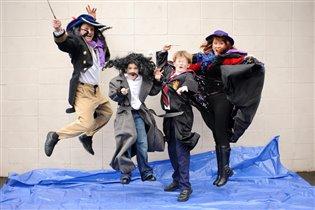 Веселая семейка волшебников