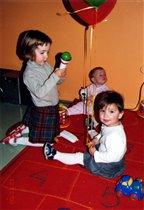 А детям было просто весело! Они играли.