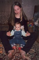 Альвина и дочка Полина