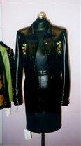 Куртка с вышивкой - Розы