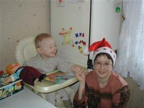 Мася + мама (06.01.04)