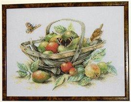 Корзина с фруктами Ланарте