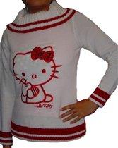 свитер с китти