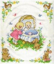 вышивка дочке