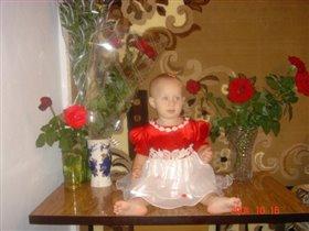 Катюшка и розы