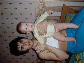 Мама Таня с дочей