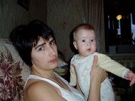 Мама+ Леся=любов