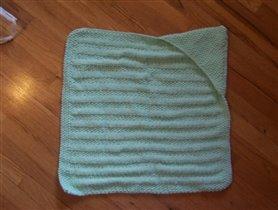 одеяло с капюшоном