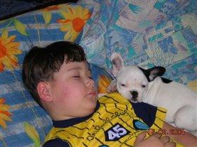 Вот как мы спим!