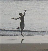 На пляжу...
