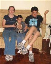 Рома, Алёша и мама