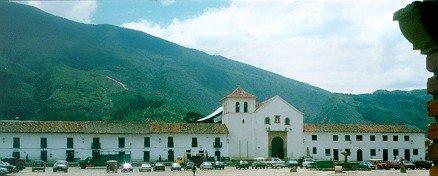 Центральная площадь города Villa de Leyv